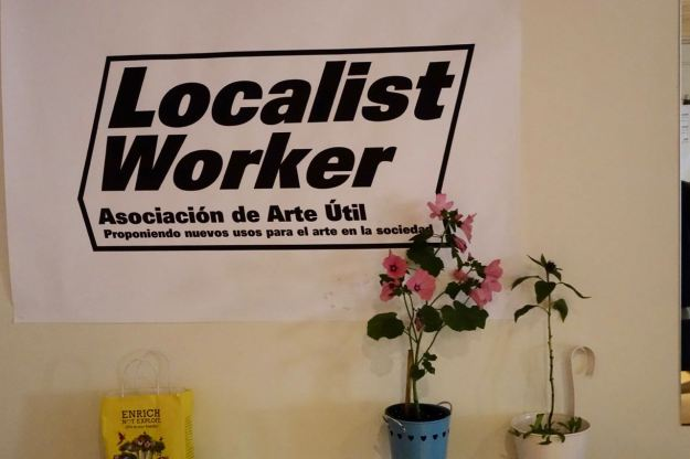 The Localist Workers are getting everything ready.
