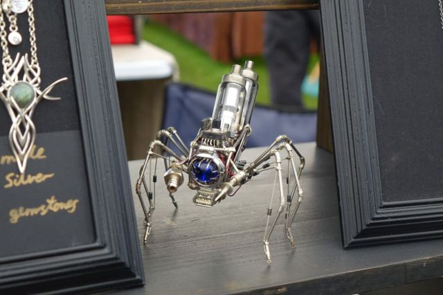 An upcycled spider beast?