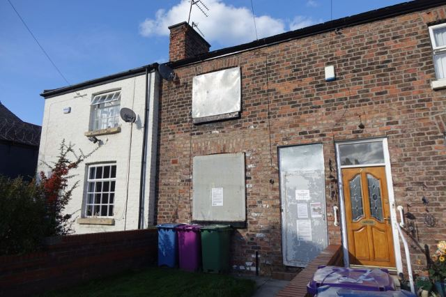Just one of the 4,500 long term empty homes in Liverpool.