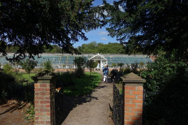 Then we both go into the walled garden.