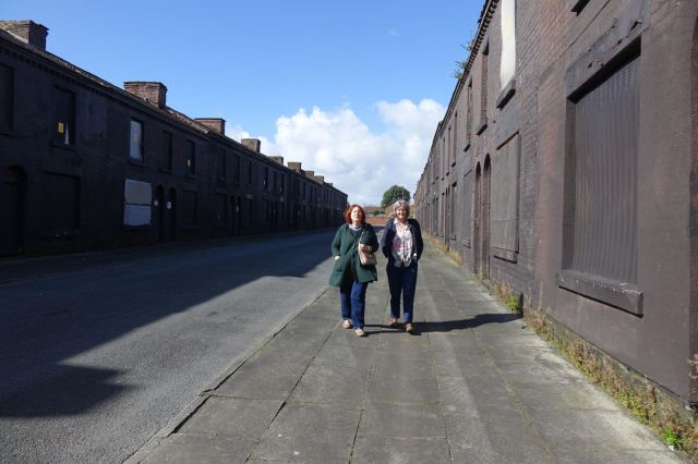 Where Linda and Sarah are told the now calming story of the Welsh Streets.