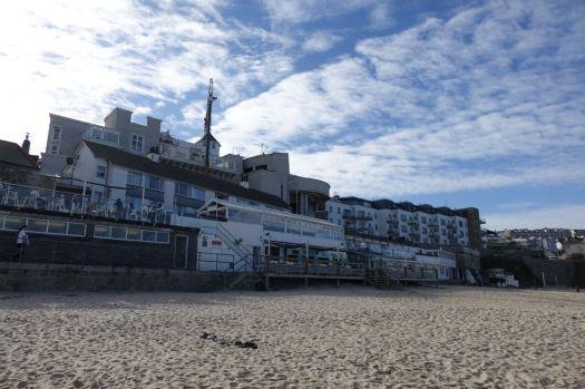 Then down onto Porthmeor Beach.