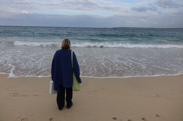 The only one of the St Ives beaches we hadn't been to yet.