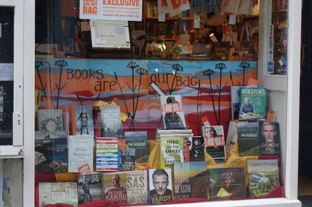 A wonderful bookshop, where you feel you're in the presence of wide and opinionated taste. Thank you.