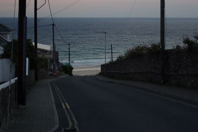 All is quiet here in Cornwall.