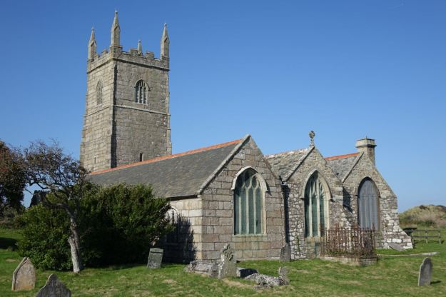 It's a 12th Century original church in the middle there, gradually added to over the centuries.