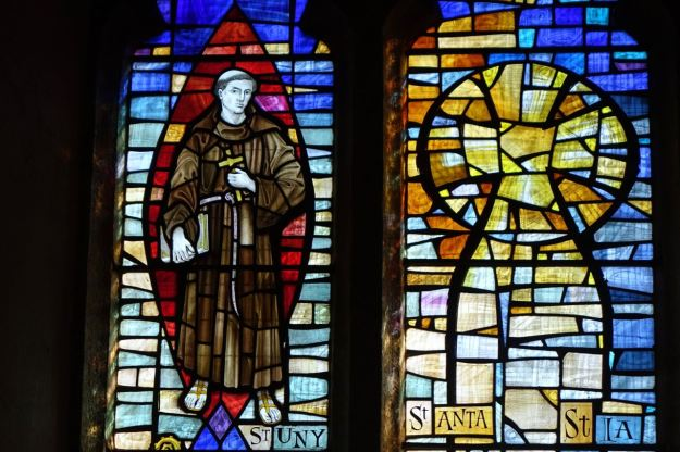 St Uny, with St Ia of St Ives.