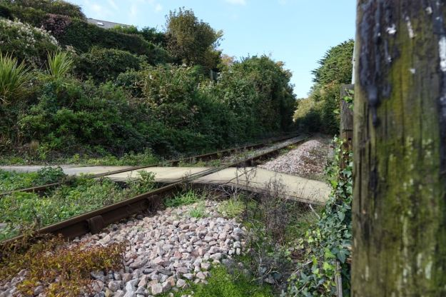 And here is the railway.
