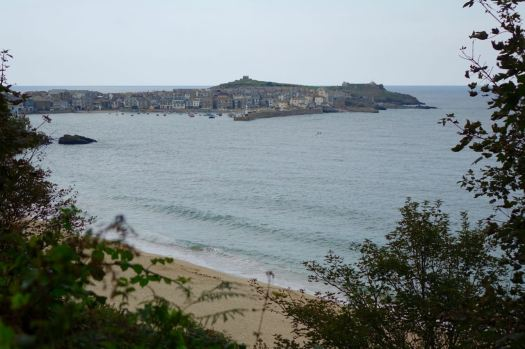 All too soon our path descends into St Ives.