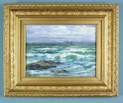 Here's one of his St Ives paintings.
