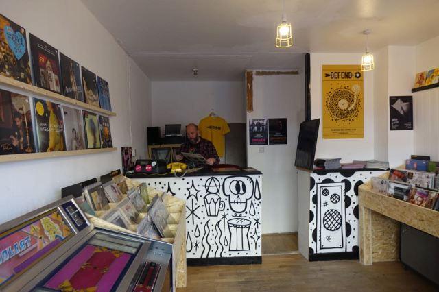 It's a proper record shop.