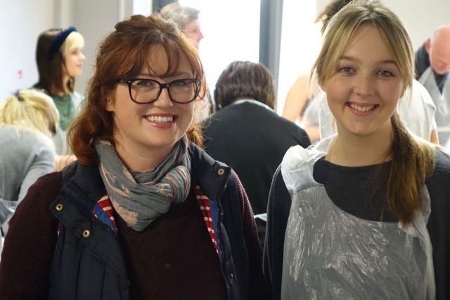 Natalie Hughes-Crean and Gabby Holmes.