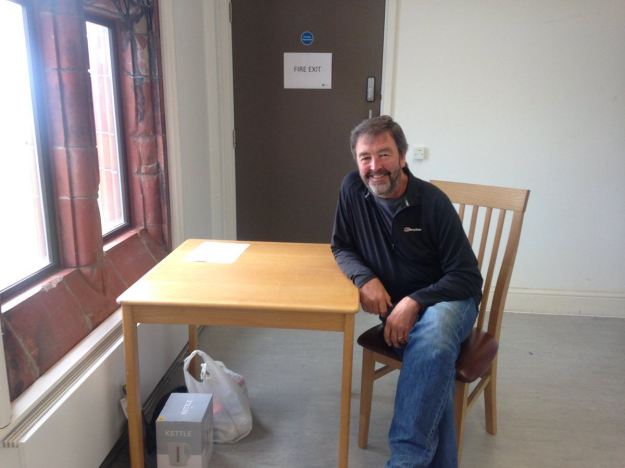 Moving in day at The Florrie.