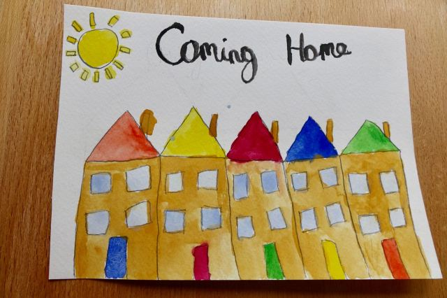 'Coming Home' by my Granddaughter Ellie Melhuish.