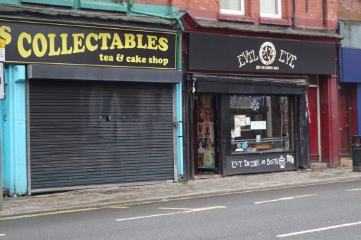 Not sure what's happening over at Collectables. Seems to spend a lot of time with its shutters down?