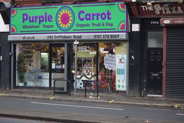 Strong nod to Purple Carrot, looking particularly well stocked and useful last time I was in there.