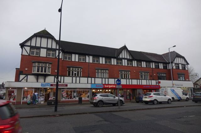 Allerton Road part two. Two branches of the Home & Bargain Liverpool empire.