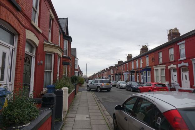 Along Crawford Avenue and on to Penny Lane.