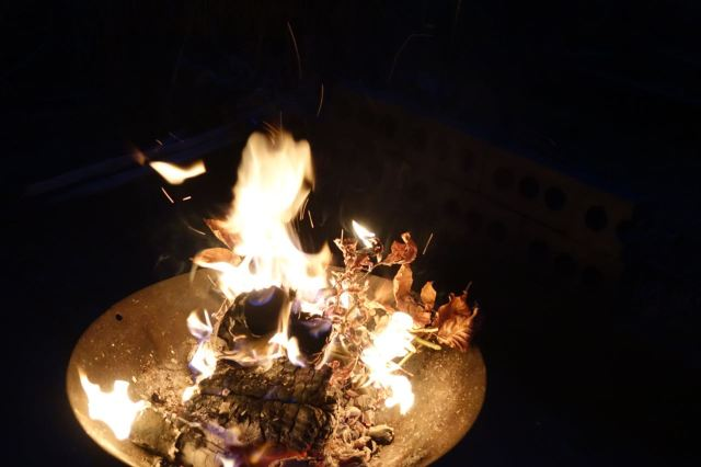 As humans have done since we learned how to make fire.