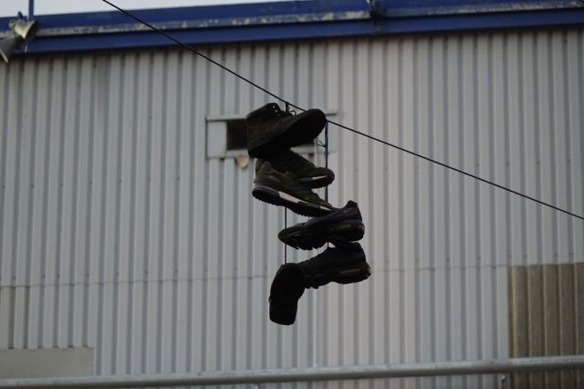 But I was only 3 when we moved to my Nan's in Bootle. So I cert`inly didn't throw these up there.