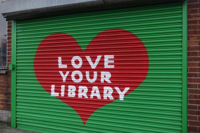 Spellow Lane library here. So precious. So fragile.