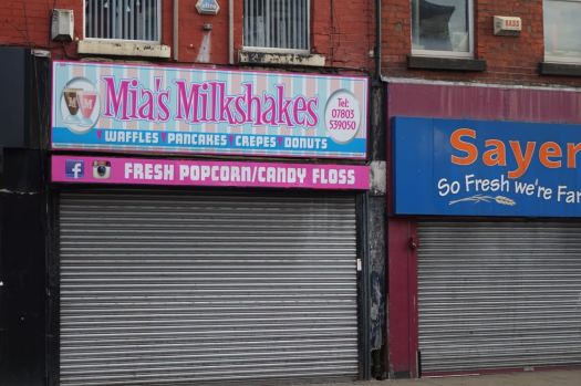 What! Another milkshake shop?