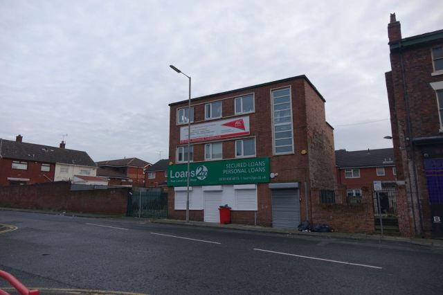 And next to this in Christopher Street, which was Liverpool Housing Trust's first Walton office, early in the 1980s.