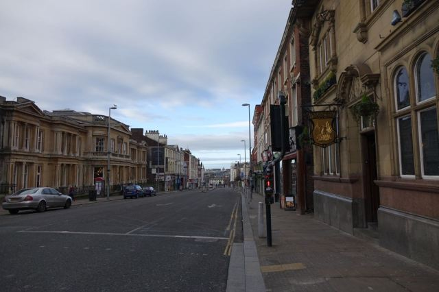 Down Hardman Street next.