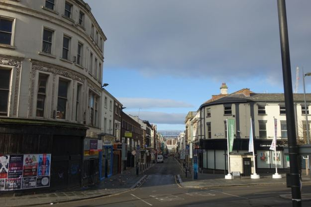 Anyway, Bold Street at last.