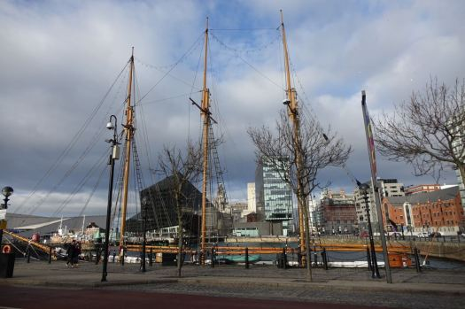 Over to the Albert Dock.