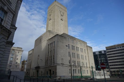 Beautiful every day of the year. The Mersey Tunnel ventilation shaft.