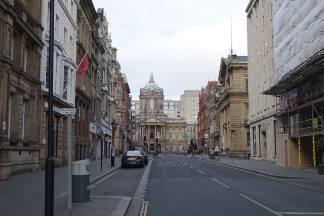 Into Castle Street.