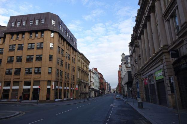 Then along Dale Street.