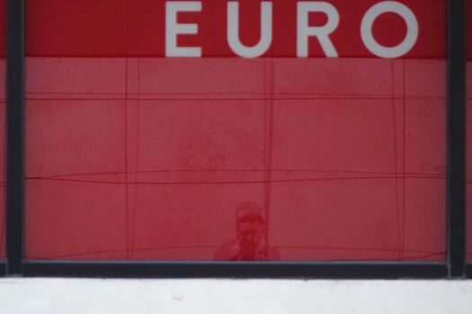 'Euro' - a self portrait on Christmas Day.