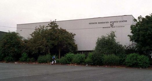This much missed Vernon Sangster Sports Centre.