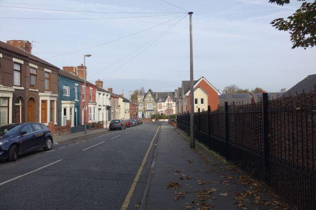 City Road in Walton.