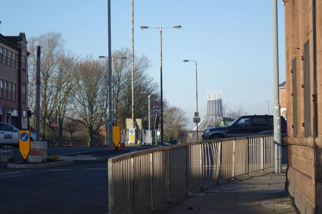 At the top end of Smithdown.