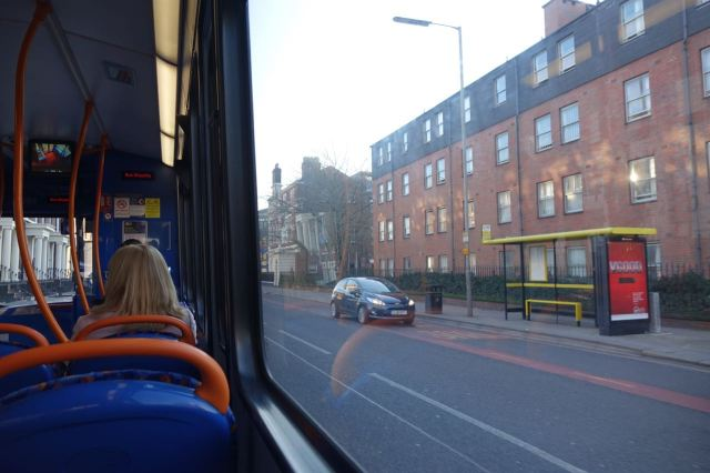 So I get on the next bus.