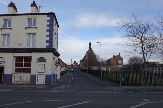 Passing Eldon Street.