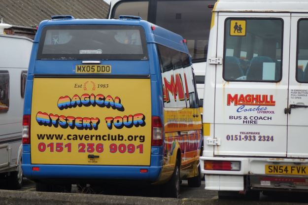 And where the Magical Mystery Tour buses live.