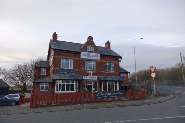 Here at the Scarisbrick Arms at Downholland Cross.