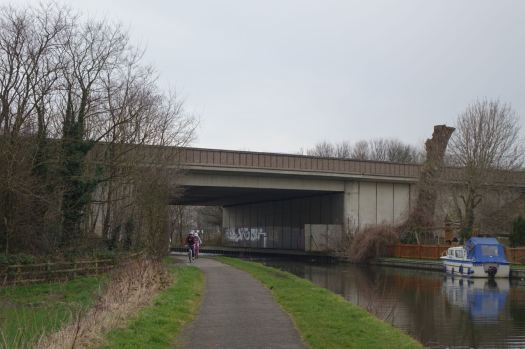 Under the M58.