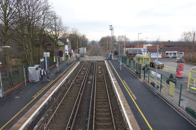 This week's wee location is at Maghull Station.