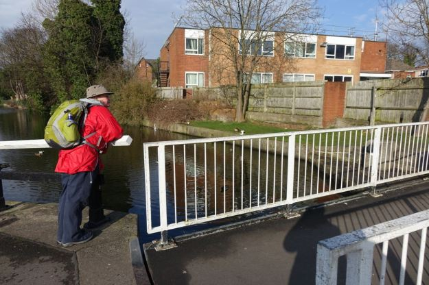 And here's the 'From me to you' swing bridge.