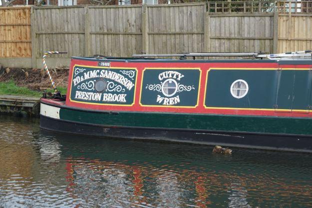 A Runcorn boat.